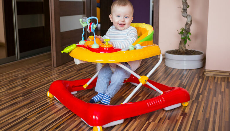 Los 5 mejores andadores para tu bebe