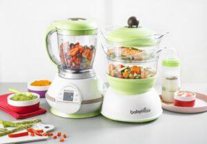 Los mejores robots de cocina para bebes
